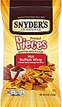 6-Pack Snyder's of Hanover Pretzel Pieces, Hot Buffalo Wing 8oz $9.02