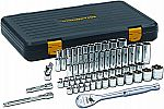 GEARWRENCH 3/8 in. 120XP SAE/Metric Standard and Deep Mechanics Tool Set (56 PC.) $64