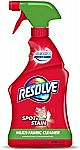 Resolve 22 fl oz Multi-Fabric Cleaner and Upholstery Stain Remover $3.74