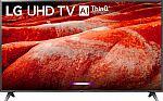 """LG 86UM8070PUA 86"""" 4K HDR Smart LED IPS TV w/ AI ThinQ (2019 Model) $1500"""