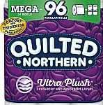 24-Count Quilted Northern Ultra Plush Toilet Paper, Mega Rolls $23.78 & More