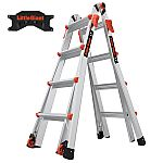 Little Giant LT M17 Ladder with Storage Rack $149.95