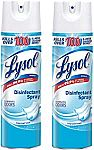 2-Ct 19oz Lysol Disinfectant Spray $10.23