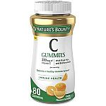 160-Count Nature's Bounty Vitamin C Gummies $12