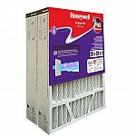 2-Pack Honeywell Home 20 in. x 25 in. x 4 in. FPR 8 Pleated Air Cleaner Replacement Filters $24.99