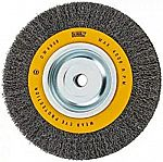 DEWALT Wire Wheel for Bench Grinder, Crimped Wire, 8-Inch $4.30