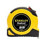 50% Off Stanley Tape Measures: Stanley Dual-Lock 25-ft Tape Measure $5.99 and more