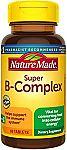 Amazon Buy 1 Get 1 Free Select Vitamins & Supplements: 2X 60-Ct Super B-Complex $3.60