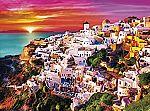 Buffalo Games 1000 Piece Jigsaw Puzzle - Dreamy Santorini $7