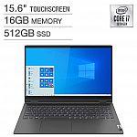 """Lenovo IdeaPad Flex 5 15.6"""" FHD Touch Laptop (i7-1065G7 16GB 512GB SSD) $749.99"""
