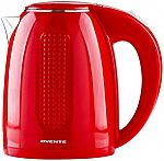 Ovente 1.7 Liter Electric Hot Water Kettle $15.22