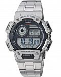 Casio Men's Classic Quartz Watch with Stainless-Steel Strap $18