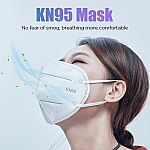 20-Ct KN95 Protective 5 Layers Face Mask $8.88 + Free Shipping