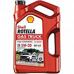 5-Quart Shell Rotella Full Synthetic Motor Oil $8.35 (YMMV)