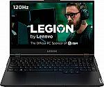 "Lenovo Legion 5 15"" FHD Gaming Laptop (i7-10750H 8GB 512GB GTX 1660 Ti) $949"