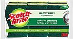 9-Ct Scotch-Brite Heavy Duty Scrub Sponges $6