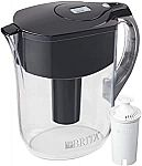 Brita Large 10-Cup Water Filter Pitcher with 1 Standard Filter $11 (Reg. $35)