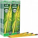 12-Count Ticonderoga Pencils $1.49 & more