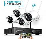 HeimVision HM241 1080P Wireless Security 4-Camera System $149.99