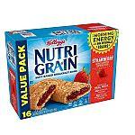 48-count Kellogg's Nutri-Grain Breakfast Bars (Strawberry) $8.43