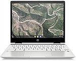 "HP Chromebook X360 12"" HD+ Touch Laptop (N4000 4GB 32GB 12b-ca0010nr White) $279.99"