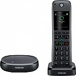 Motorola - MOTO-AXH01 Alexa Built-In Wireless Home Telephone System $39.99