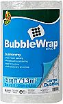 "Duck Brand Large Bubble Wrap Roll (12"" x 15') $2 (75% off)"