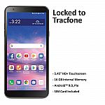 Tracfone LG Journey 4G LTE Prepaid Cell Phone $20