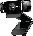 Logitech 1080p Pro Stream Webcam $65 (YMMV)