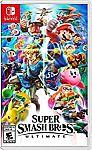 Super Smash Bros. Ultimate (Nintendo Switch) $49.94