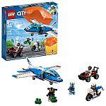 LEGO City Sky Police Parachute Arrest 60208 $28 (org $40)