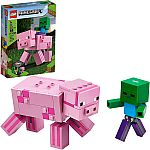 LEGO Minecraft Pig BigFig and Baby Zombie Character 21157 $9.99