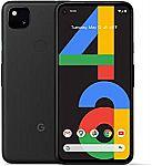 Google Pixel 4a Unlocked 128GB $349.99