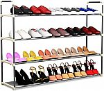 Home-Complete Shoe Rack with 5 Shelves $20