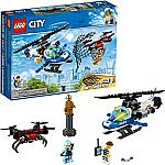 Lego Clearance: City Sky Police Drone Chase 60207 $18, Marvel Avengers Ultimate Quinjet 76126 $48 (40% Off) & More