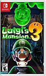 Luigi's Mansion 3 - Nintendo Switch $42