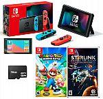 Nintendo Switch Bundle Mario Rabbids Kingdom Battle + Starlink + 16GB + MORE $379.99