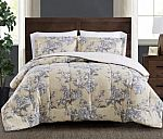 3-Pc. Reversible Full/Queen Comforter Set $21 and more