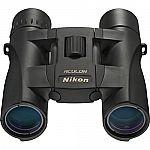 Nikon ACULON A30 10x25 Binoculars, Black Refurbished $39