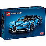 LEGO Technic: Bugatti Chiron Sports Race Car Model (42083) $280 & more