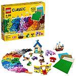 LEGO Classic Bricks Bricks Plates 11717 Building Set (1504 Pieces) $40
