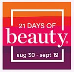 21 Days of Beauty Event: 50% Off Select Products Foreo Luna Mini 2 $59 & More
