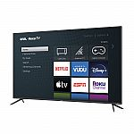 """onn. 70"""" Class 4K UHD HDR Roku Smart LED TV $448 (In Store Only)"""