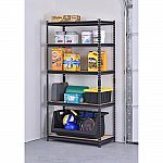 """Muscle Rack 36"""" 5-Tier Steel Garage Storage Shelving Unit $48, 120 lbs. Hand Truck Dolly $25 and more"""