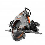 RIDGID 18-Volt OCTANE Cordless Brushless 7-1/4 in. Circular Saw (Tool Only) $99, RYOBI 18V ONE+ Circular Saw with 2-pk Li+ HP 3Ah Battery $159 and more
