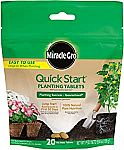 20-Ct Miracle-Gro Quick Start Planting Tablets $3.80