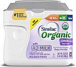 23.2-oz Similac Organic with A2 Milk Infant Formula $21.80