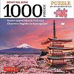 1000-Piece Jigsaw Puzzle Tokyo Skyline, Mount Fuji $9.98, Borobudur Temple, Balinese Temple $11.48