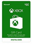 Xbox Gift Card $60 US (Email Delivery) $48