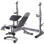 Weider Olympic Workout Bench with Squat Rack $200 + Get $40 Kohls Cash
